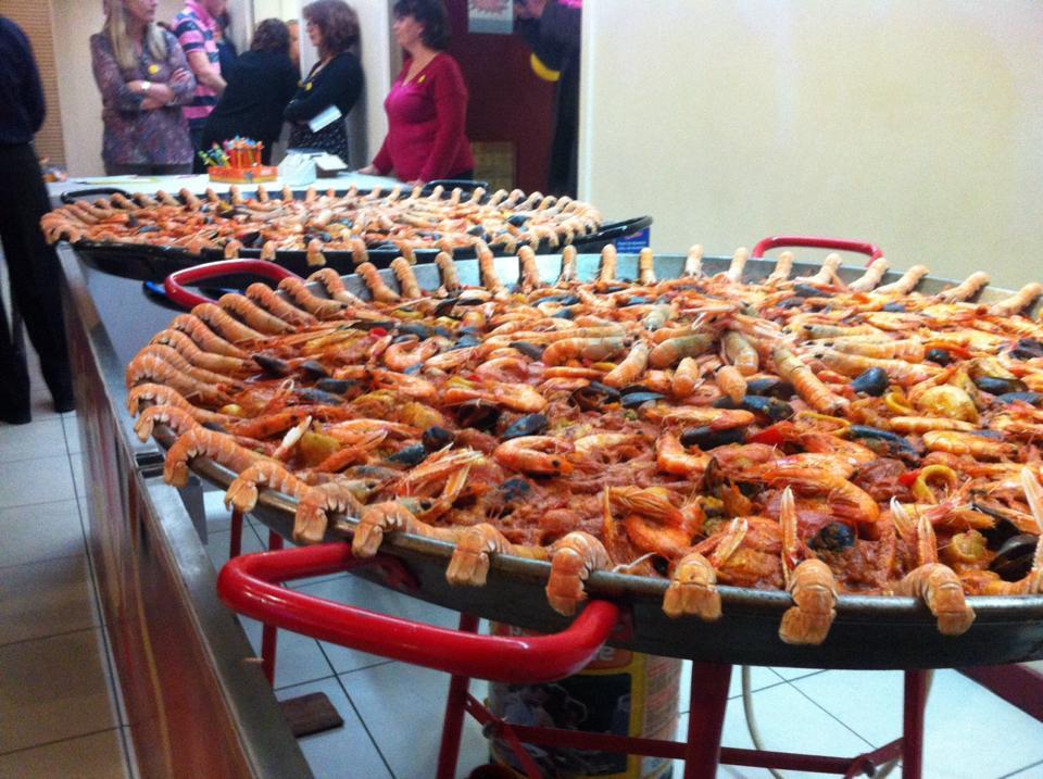 Idée Repas Pour 20 Personnes Plat paella 20 personnes   Traiteur à domicile   Authentic Paella